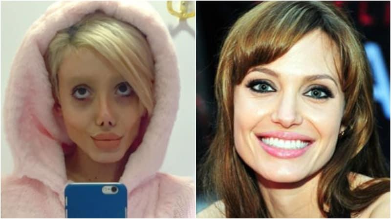 Sahar Tabar dan Angelina Jolie