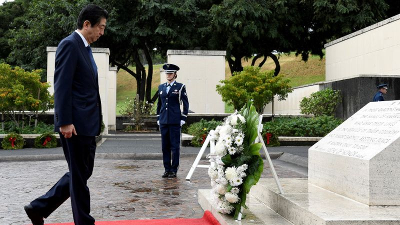 Kunjungan Shinzo Abe ke Hawaii