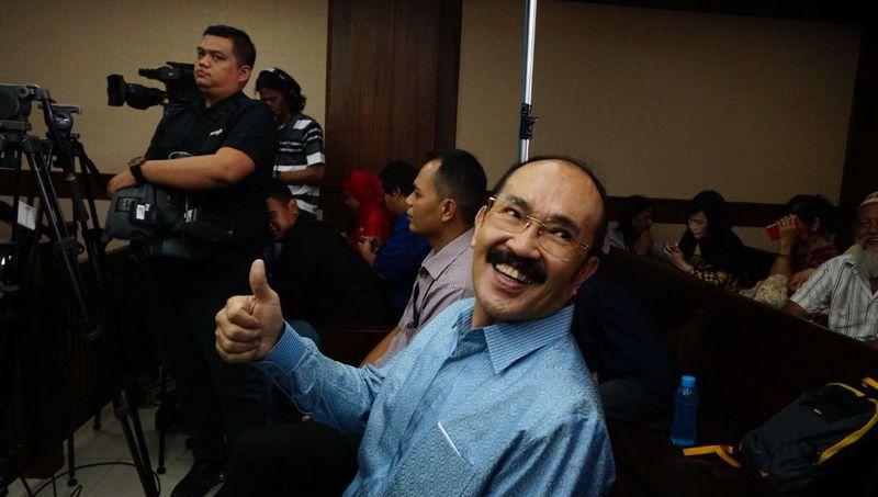 Fredrich Yunadi di Pengadilan Tipikor