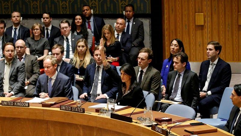 Nikki Haley di DK PBB terkait status Yerusalem