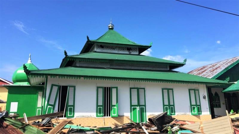 Masjid Al Amin, Palu, Tsunami, Gempa, Sulawesi Tengah