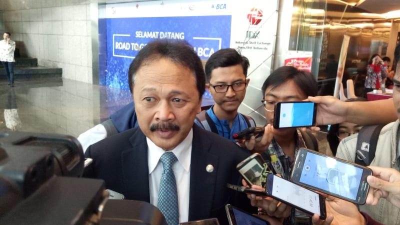 Tito Sulistio, Direktur PT Bursa Efek Indonesia.
