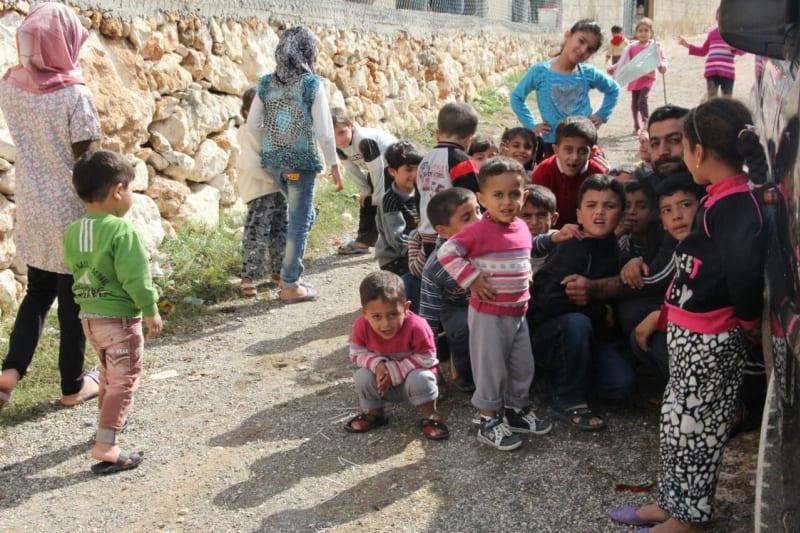 Relawan di Suriah