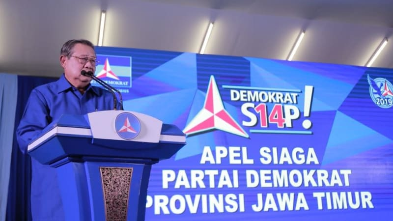 Apel siaga Partai Demokrat di Madiun