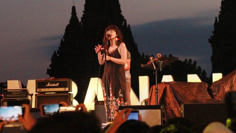 Stars and Rabbit di Prambanan Jazz