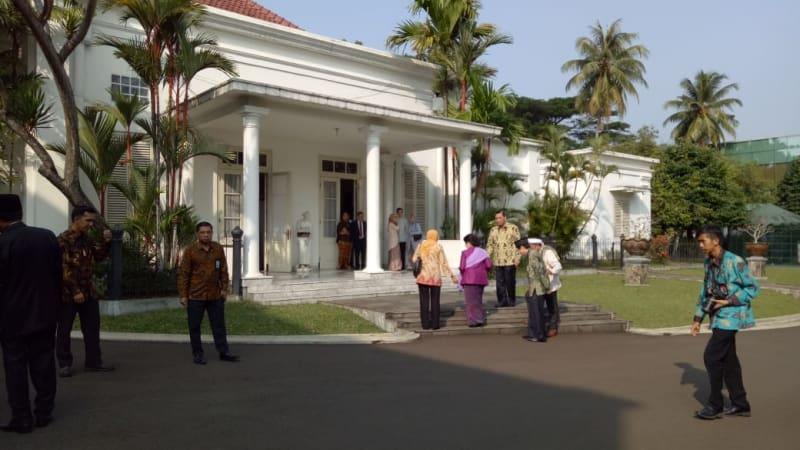 Jokowi Open House di Istana Bogor