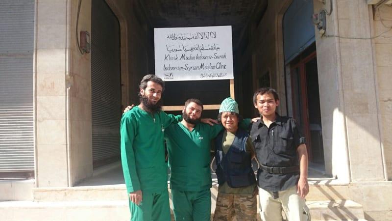Relawan Indonesia di Suriah