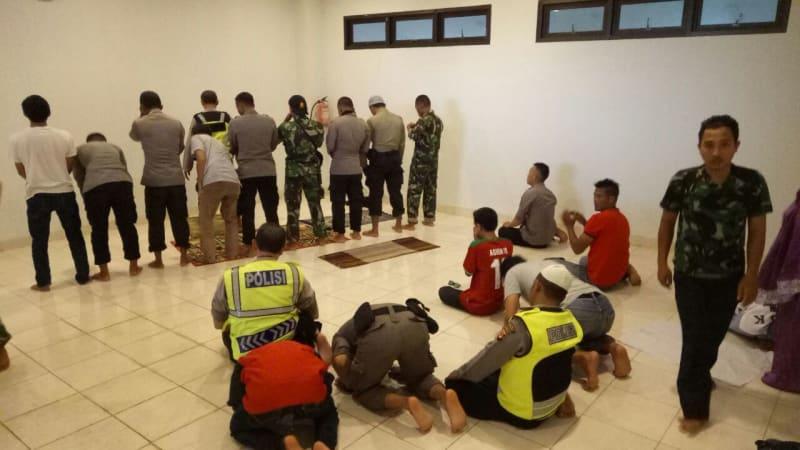 Kondisi musala di Stadion Pakansari, Kabupaten Bogor