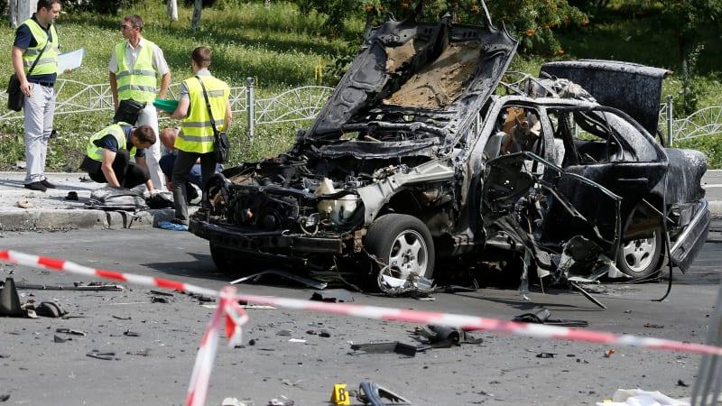 Bom mobil di Ukraina