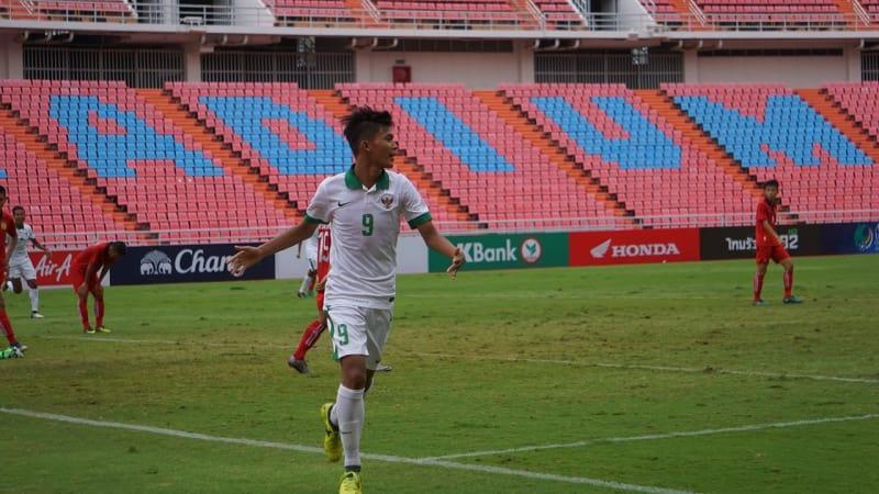 Indonesia vs Laos di kualifikasi Piala Asia U-16