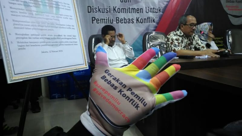 Deklarasi kampanye 'Pemilu Bebas Konflik'