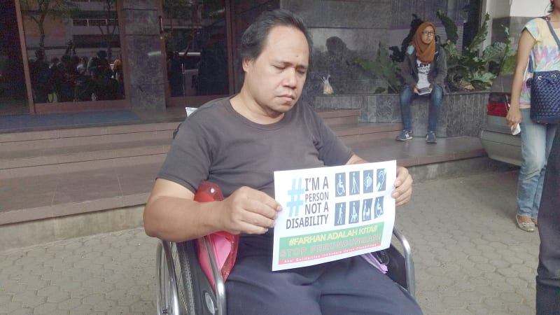 LBH Disabilitas dan Masyarakat Peduli Autis