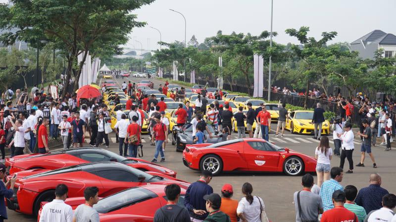 Ferrari Festiva of Speed