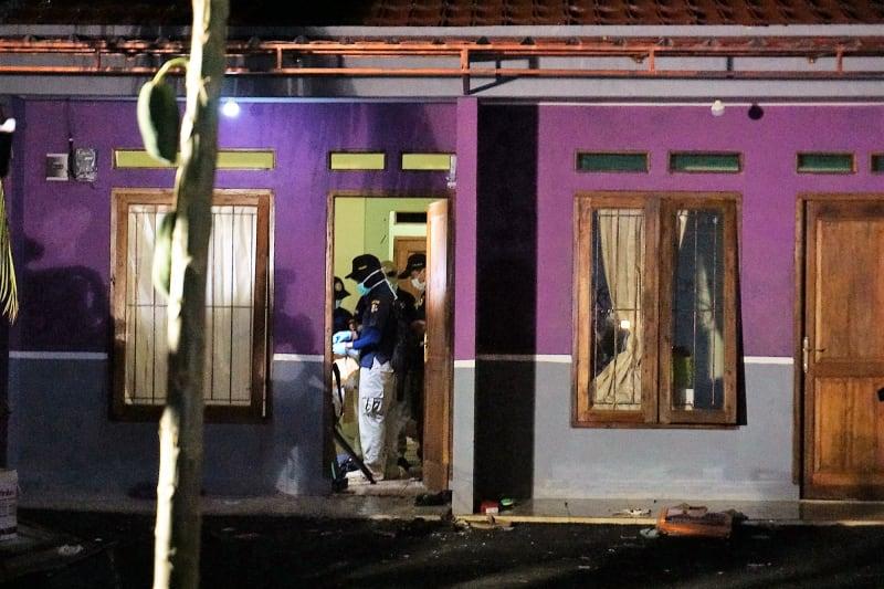 Rumah Kontrakan Terduga Teroris Tangsel