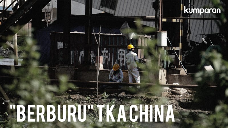 """Berburu"" TKA China di Morowali"