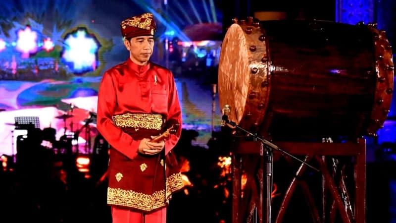 MTQ Nasional Ke-27, Medan, Jokowi