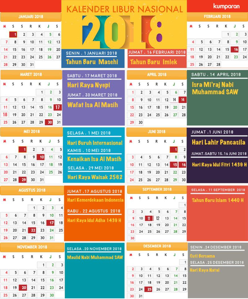 kalender hari libur nasional 2017