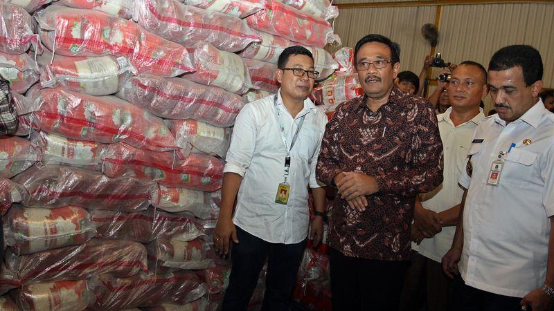Djarot di Media Gathering BUMD Pangan DKI Jakarta