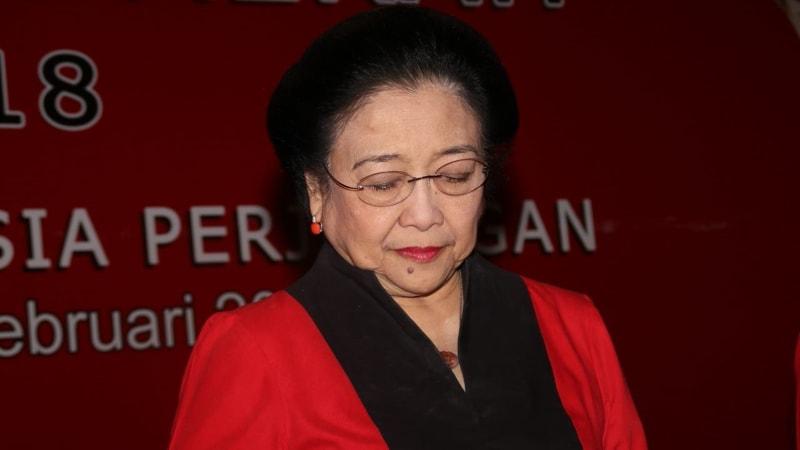 Megawati Soekarnoputri di Wisma Kinasih