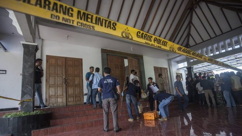 Penyerangan gereja di Yogyakarta