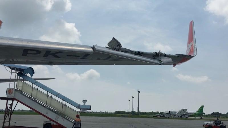 Kecelakaan Lion Air dan Wings Air