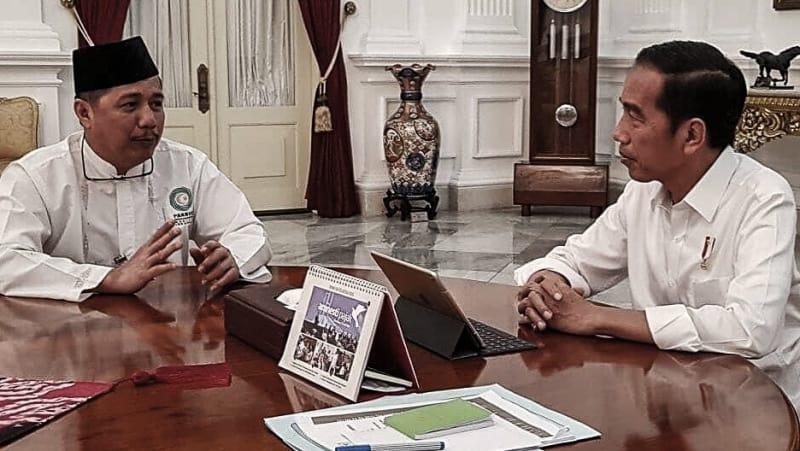 Usamah Hisyam dan Presiden Jokowi