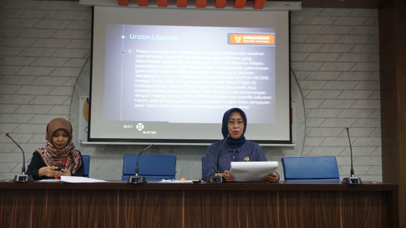 Ombudsman RI umumkan terpidana hukuman mati.