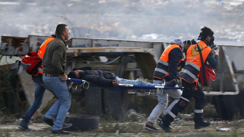 Korban tembakan tentara Israel