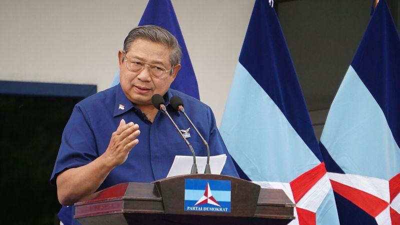Ketum Partai Demokrat, Susilo Bambang Yudhoyono