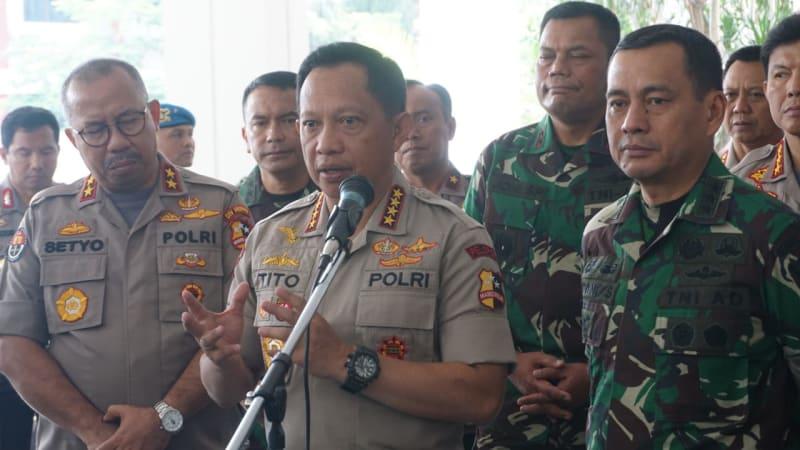 Kapolri, Tito Karnavian, Wakasad, TNI AD, Tatang Sulaiman, Auditorium PTIK