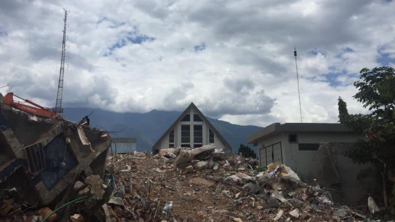 Gereja IFGF, Palu, tak roboh usai diterjang tsunami
