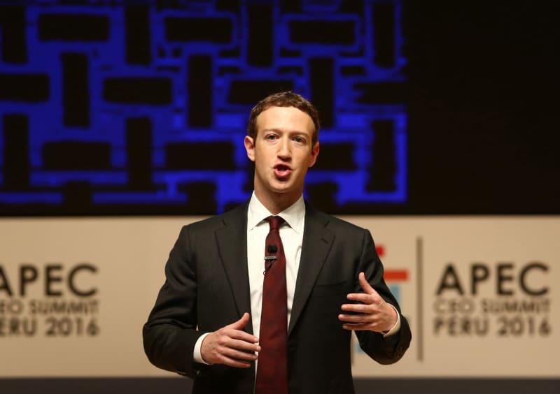 Mark Zuckerberg, CEO Facebook