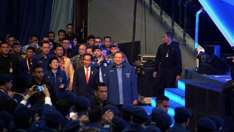 SBY dan Demokrat Siap Dukung Jokowi Maju Pemilu 2019