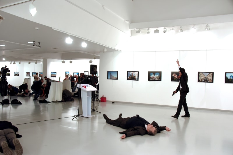 Penembakan Dubes Rusia untuk Turki