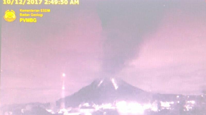 Gunung Sinabung Meletus (NOT COVER)