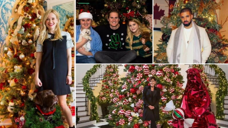 Selebriti Hollywood Merayakan Natal