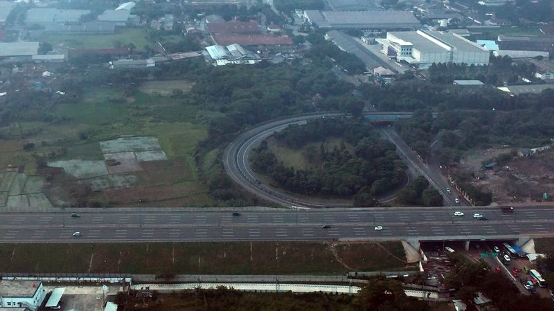 Jalur Tol Merak dari Jakarta Menuju - Merak