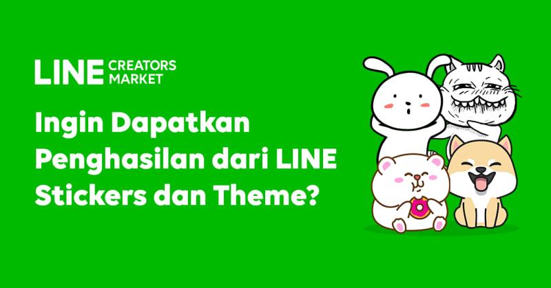 com-Dapat Penghasilan dari LINE Creators