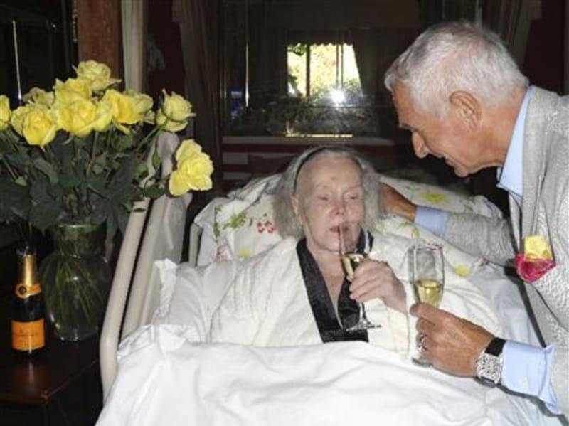 Zsa Zsa Gabor dan Suaminya Frederic Prinz