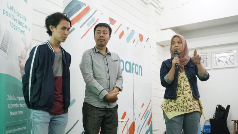 Suasana acara Facebook Ideathon Build Day 2018