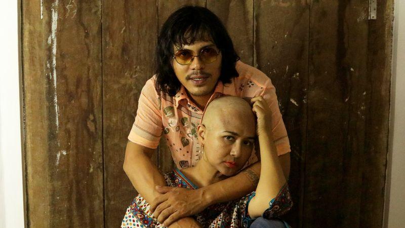 Ria Irawan Bersama Sang Suami, Mayky Wongkar.