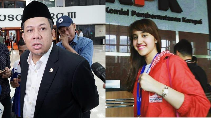 Fahri Hamzah dan Tsamara Amany