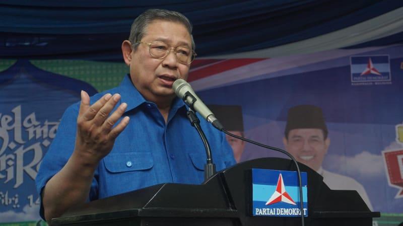 SBY resmikan Pasar Murah Demokrat di DPP Demokrat