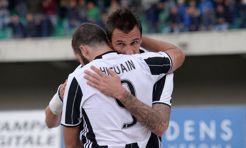 Mario Mandzukic & Gonzalo Higuain