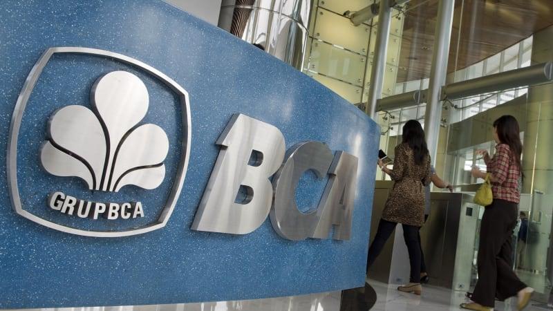 Ilustrasi Bank BCA.