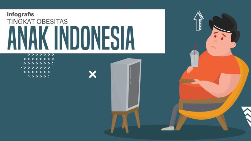 Segawat Apa Angka Obesitas pada Anak Indonesia?