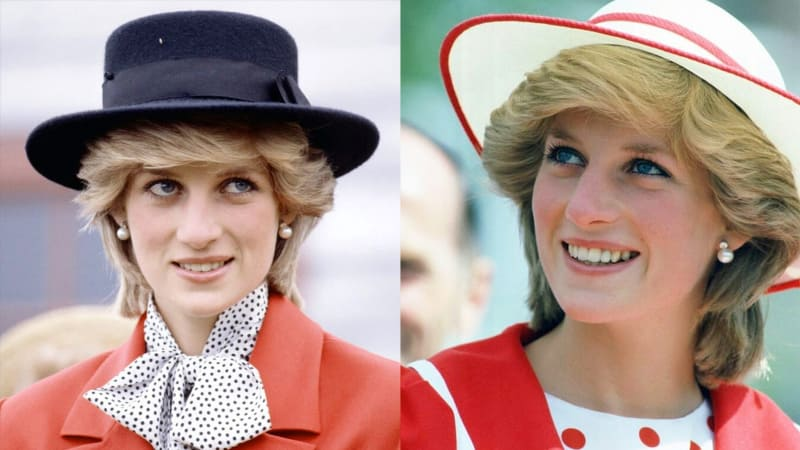 Gaya Busana Putri Diana
