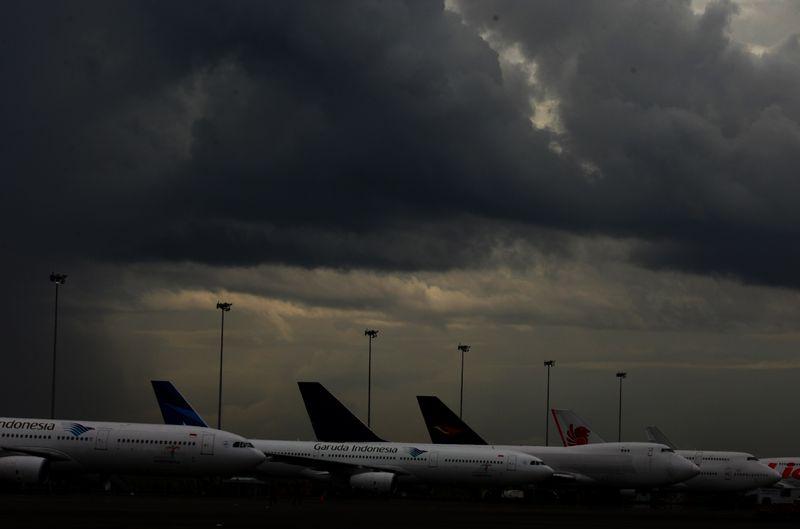Ilustrasi Penerbangan Delay