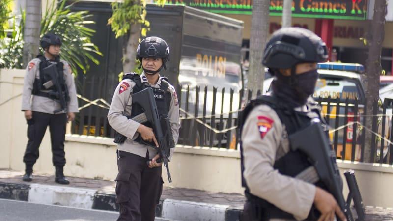 Pengamanan Polda Riau