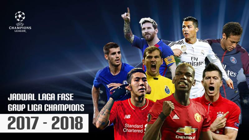 Jadwal pertandingan Liga Champions
